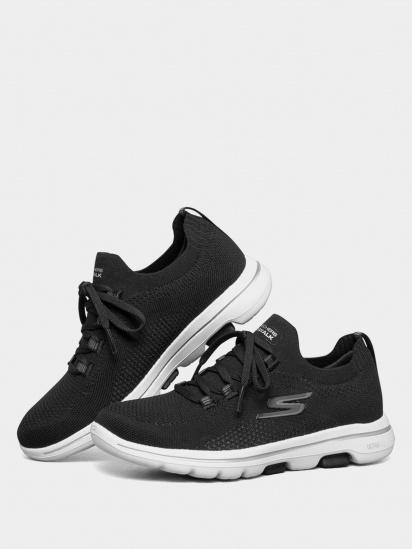 Кросівки для тренувань Skechers GOwalk 5 – Uprise модель 124010 BKW — фото 5 - INTERTOP