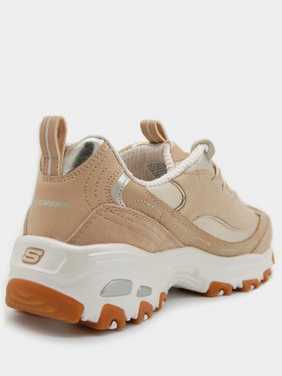 Кросівки для міста Skechers Elite Premium D'Lites модель 149479 TAN — фото 3 - INTERTOP
