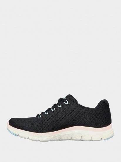 Кросівки для міста Skechers Flex Appeal 4.0 - Coated Fidelity модель 149298 BKPK — фото 2 - INTERTOP