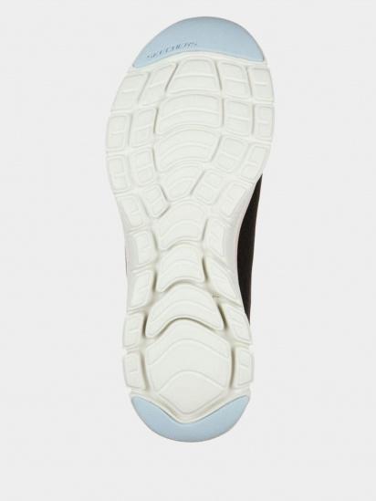 Кросівки для міста Skechers Flex Appeal 4.0 - Coated Fidelity модель 149298 BKPK — фото 3 - INTERTOP