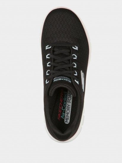 Кросівки для міста Skechers Flex Appeal 4.0 - Coated Fidelity модель 149298 BKPK — фото 4 - INTERTOP