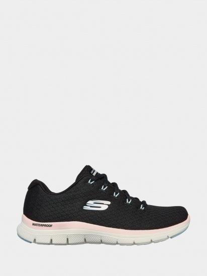 Кросівки для міста Skechers Flex Appeal 4.0 - Coated Fidelity модель 149298 BKPK — фото - INTERTOP