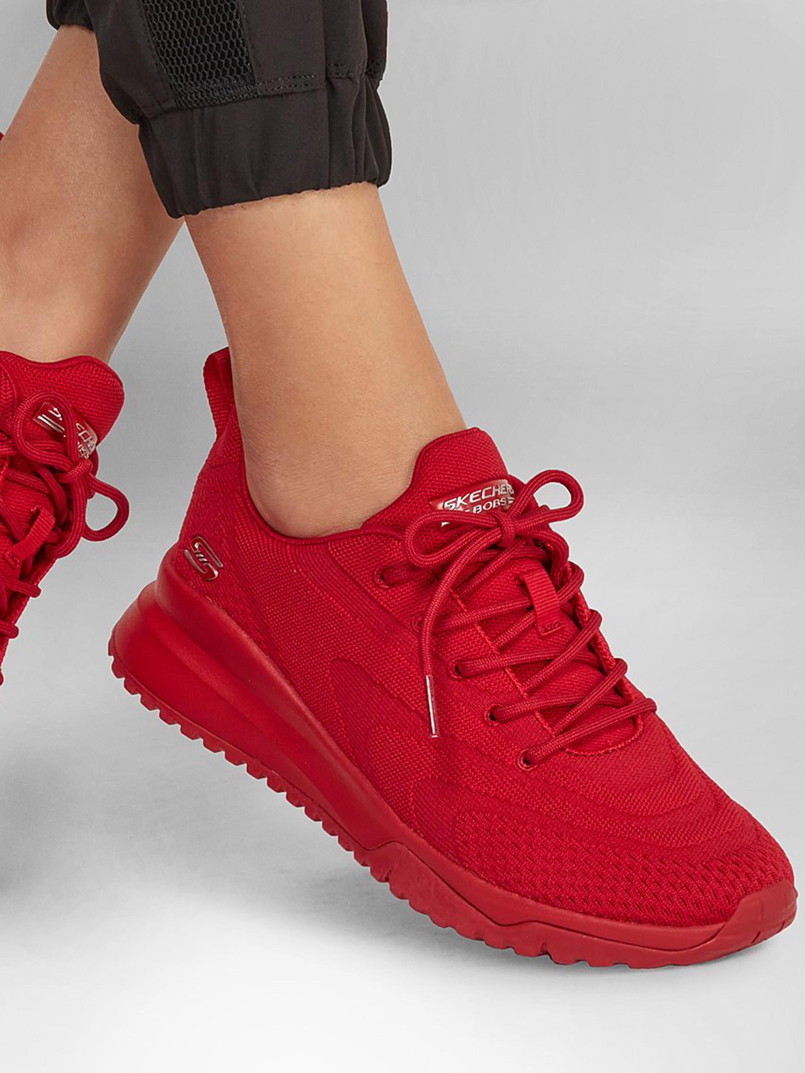 Кросівки для міста Skechers BOBS Sport Squad 3 117178 RED