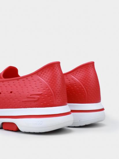 Сліпони Skechers GOwalk 5 - Sun Kissed модель 111105 RED — фото 4 - INTERTOP