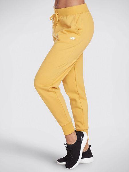 Купить Штаны спортивные женские модель KY104, Skechers, Желтый