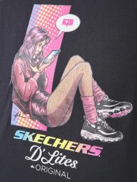 Skechers Футболка жіночі модель W1TS174 BLK ціна, 2017