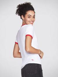Skechers Футболка жіночі модель BW1TS20 WHT ціна, 2017