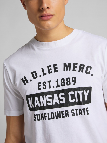 Футболка Lee KANSAS CITY модель L60TFE12 — фото 3 - INTERTOP