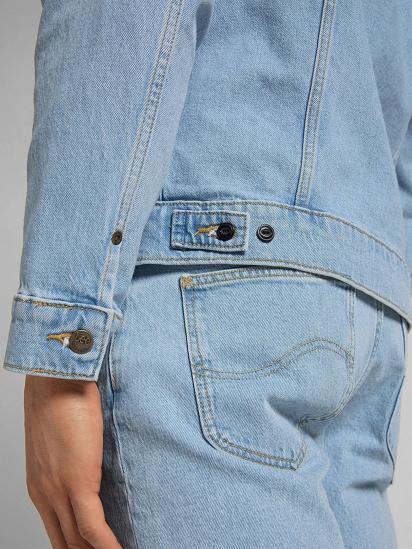 Джинсова куртка Lee Rider модель L89ZMWJU — фото 3 - INTERTOP