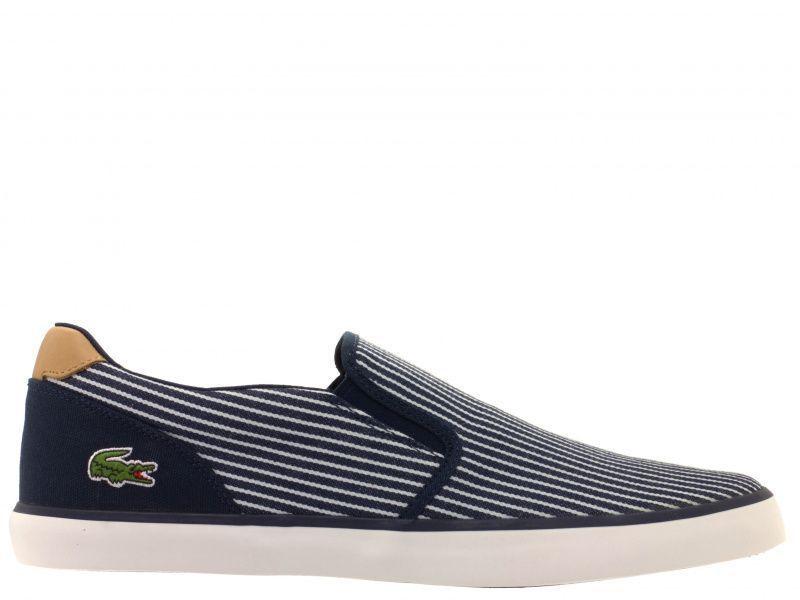 Cлипоны для мужчин Lacoste LK133 размерная сетка обуви, 2017
