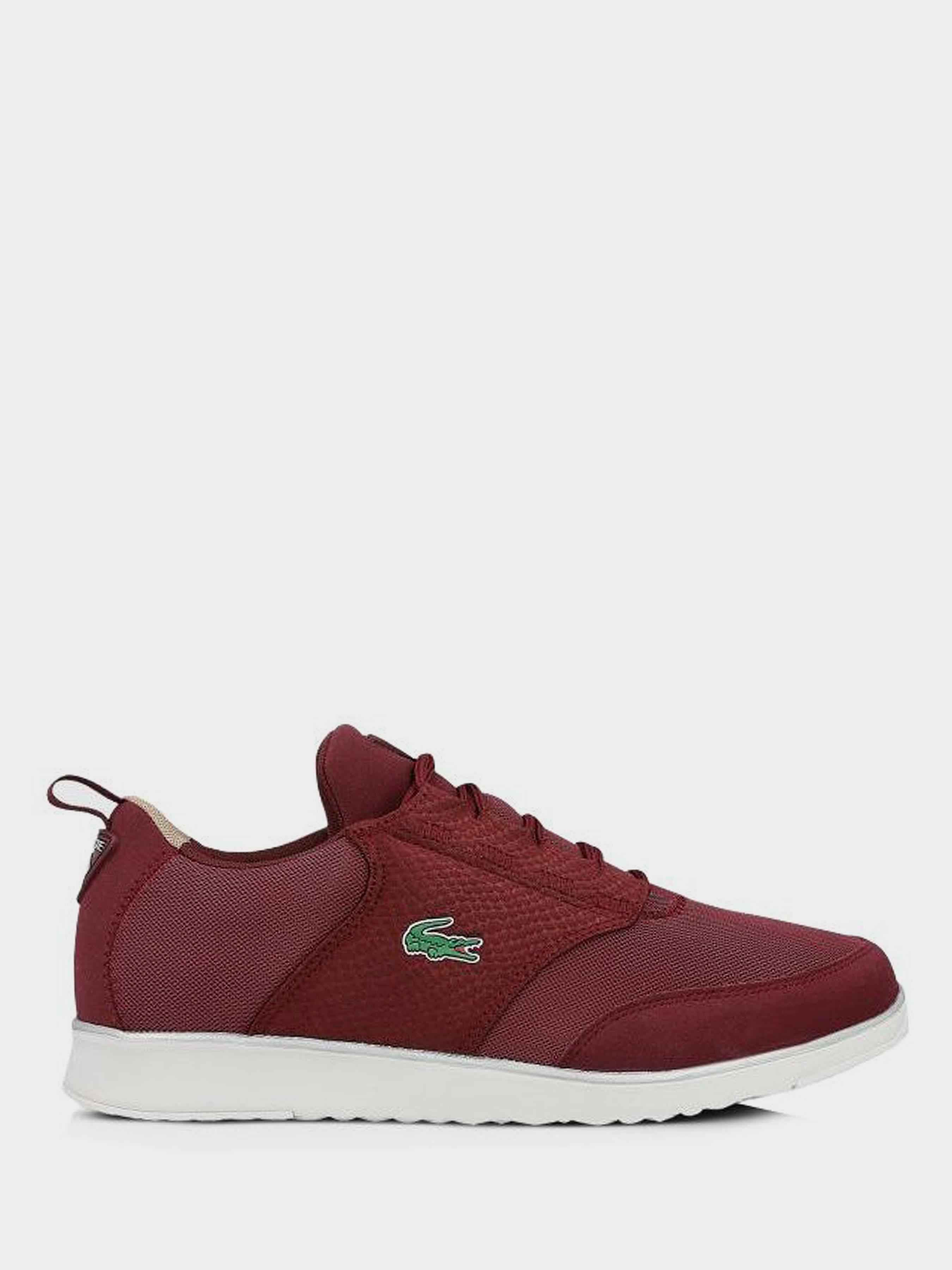 Кроссовки мужские Lacoste LK163 размеры обуви, 2017