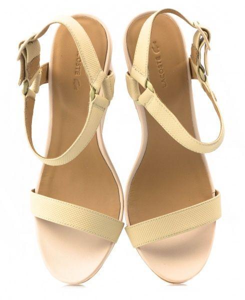 Босоножки для женщин Lacoste LL112 брендовая обувь, 2017