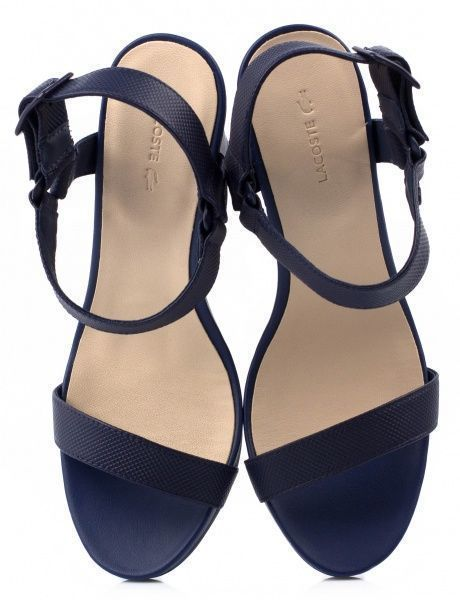 Босоножки для женщин Lacoste LL113 брендовая обувь, 2017