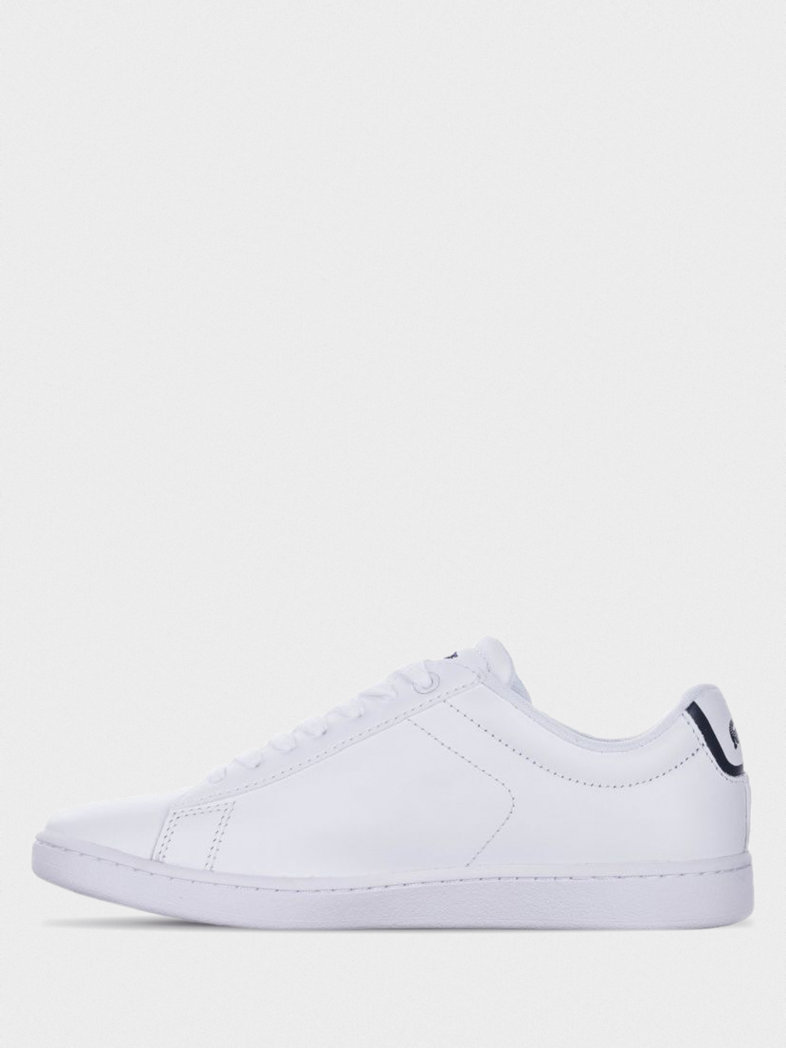 Кеды для женщин Lacoste CARNABY EVO BL 1 SPW 732SPW0132001 размерная сетка обуви, 2017