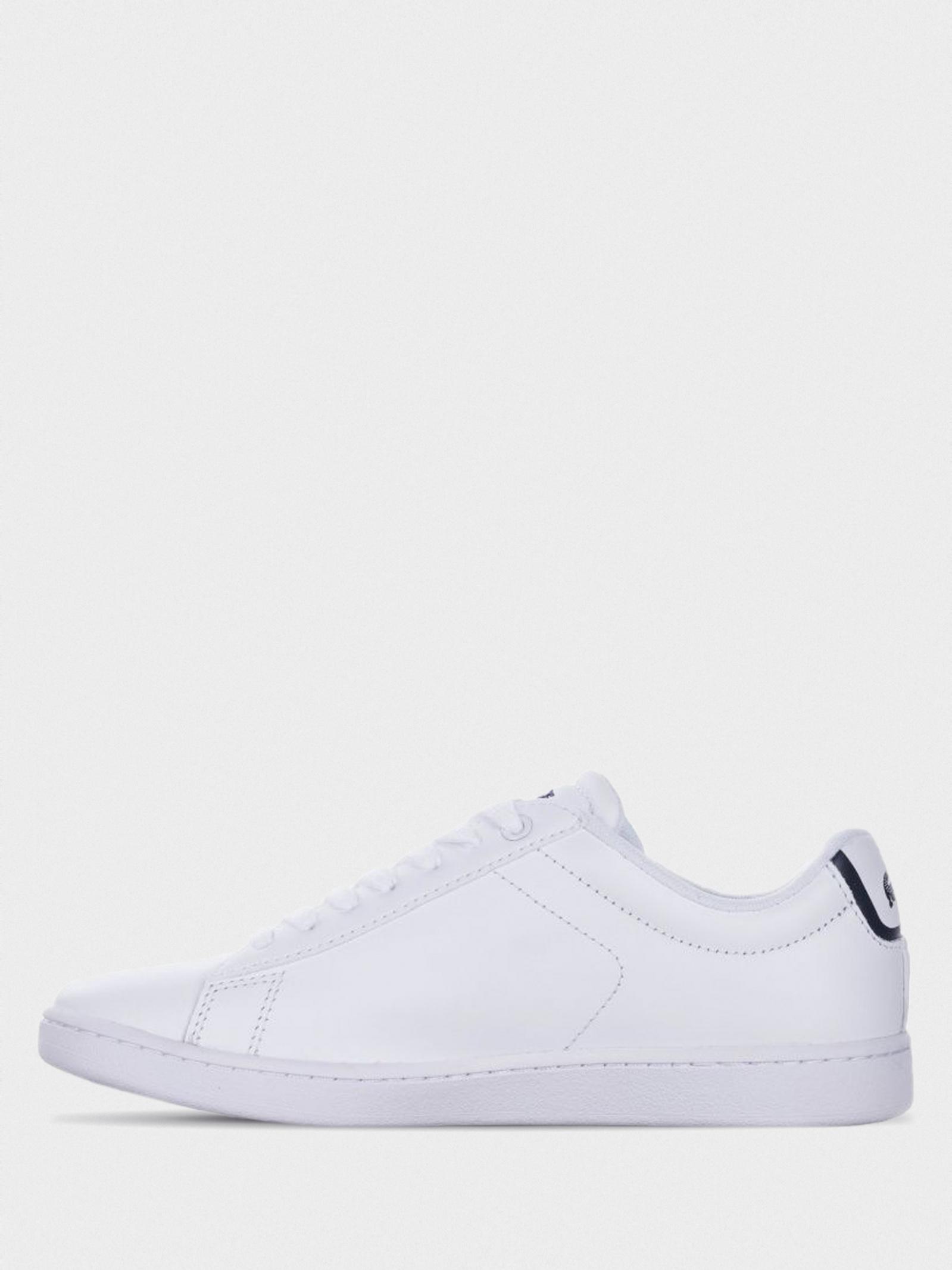 Кеди  для жінок Lacoste CARNABY EVO BL 1 SPW 732SPW0132001 розмірна сітка взуття, 2017