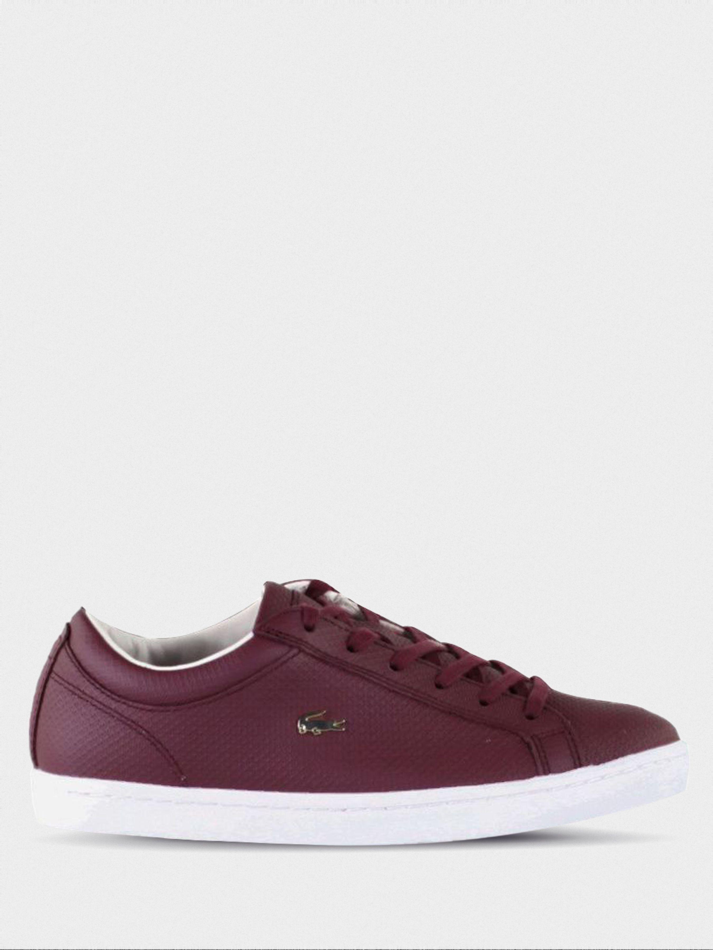 Полуботинки для женщин Lacoste Straightset 316 3 LL122 брендовая обувь, 2017