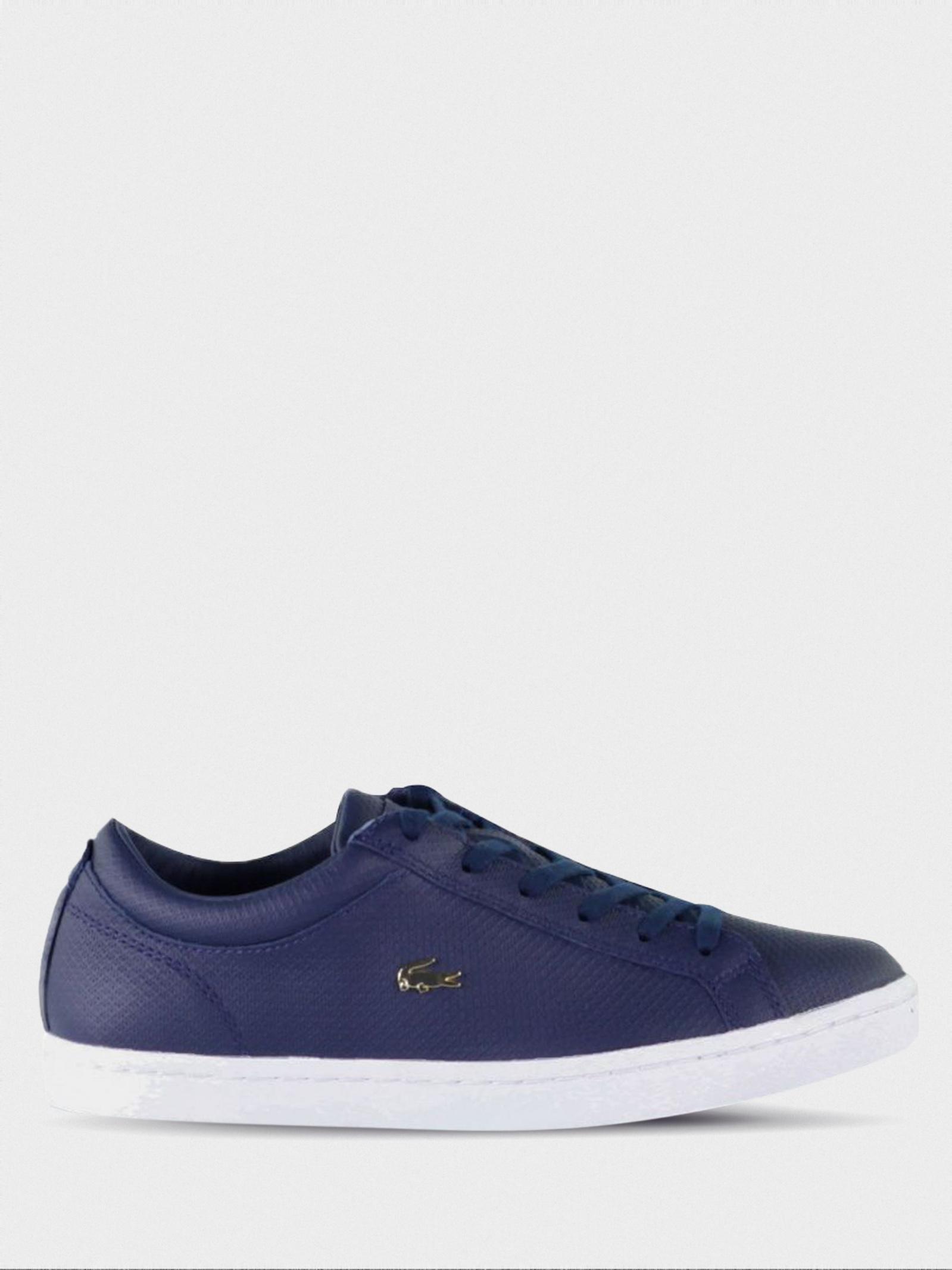 Полуботинки женские Lacoste Straightset 316 3 732CAW0146003 размерная сетка обуви, 2017