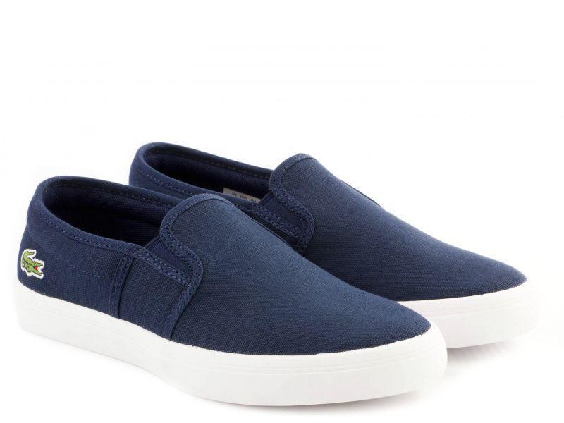 Слипоны для женщин Lacoste 732SPW0138003 брендовая обувь, 2017