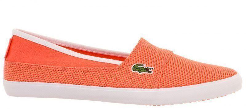 Купить Cлипоны женские Lacoste LL131, Оранжевый
