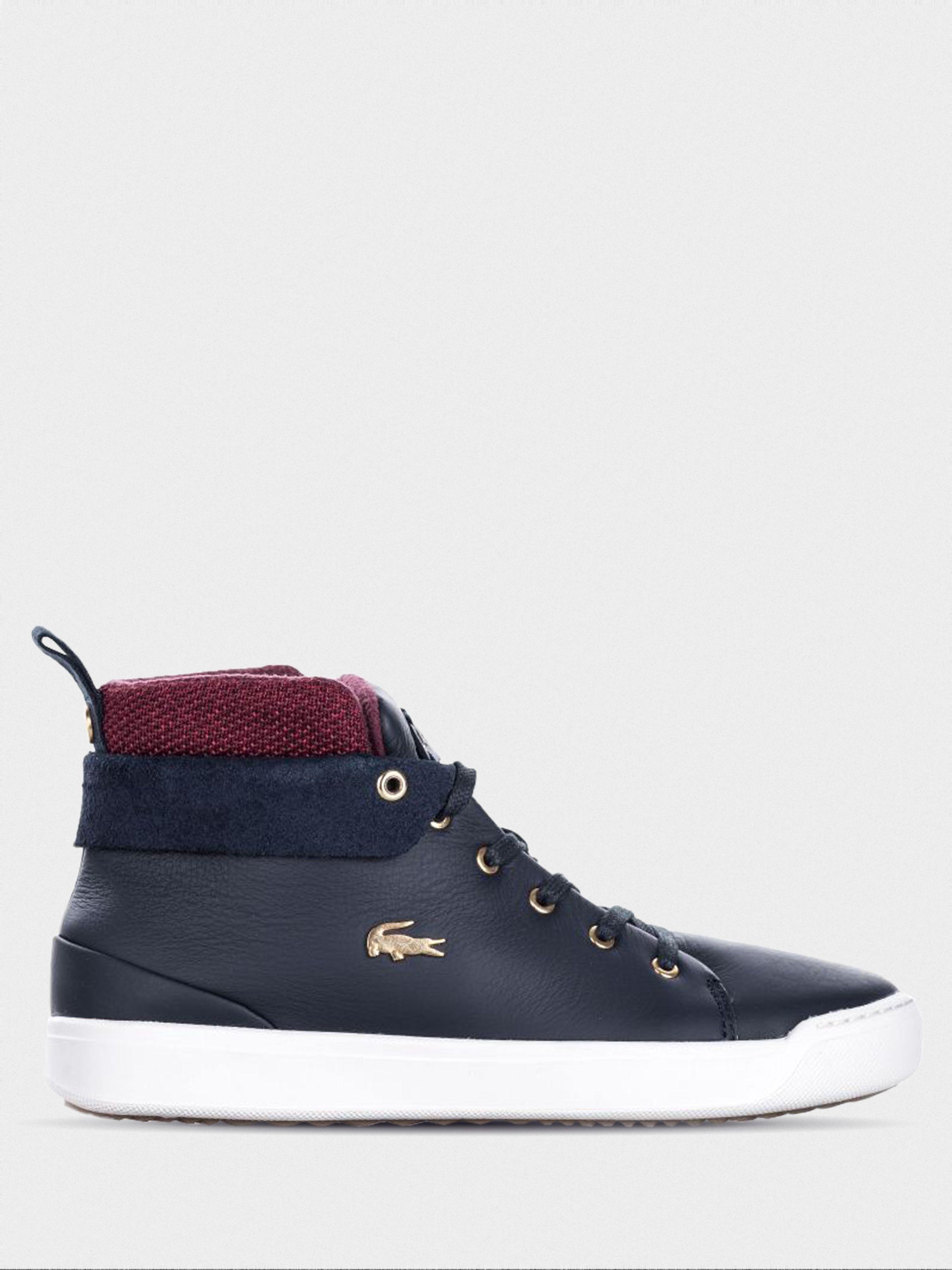 Ботинки женские Lacoste EXPLORATEUR LL166 брендовая обувь, 2017