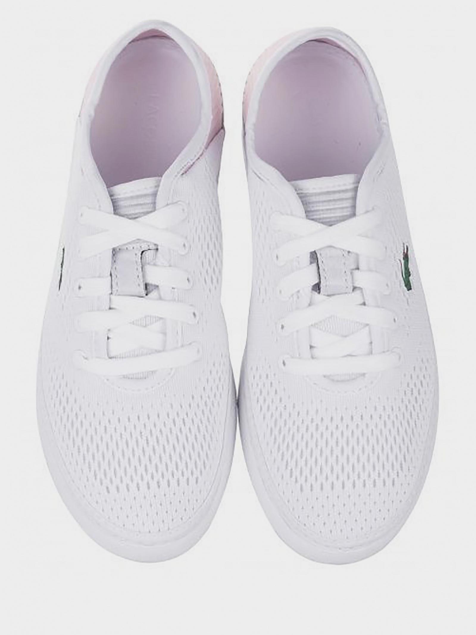 Кеды для женщин Lacoste 737CFA00231Y9 купить обувь, 2017