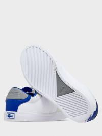 Кеди  дитячі Lacoste COURT-MASTER 120 2 CUJ 739CUJ0011080 розмірна сітка взуття, 2017