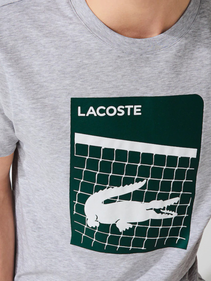 Футболка Lacoste модель TH9654CCA — фото 5 - INTERTOP