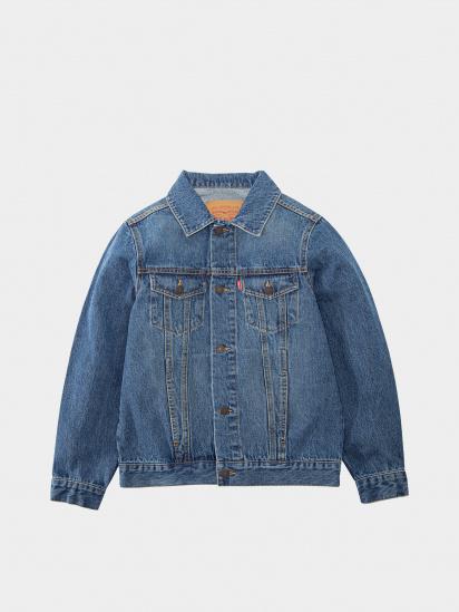 Джинсова куртка Levi's модель 9E2058-M8X — фото - INTERTOP