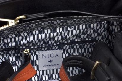 Сумки та клатчі Nica модель NH6114-Black Emboss — фото 4 - INTERTOP