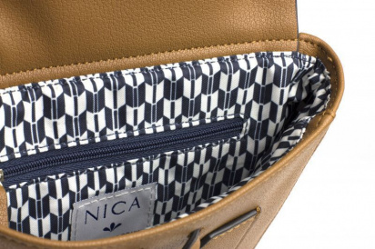 Рюкзаки Nica модель NH6139-chestnut — фото 4 - INTERTOP