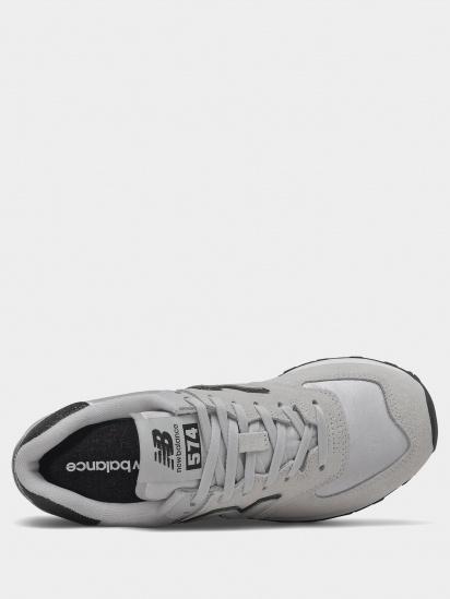 Кросівки для міста New Balance 574 Glitter модель WL574FM2 — фото 4 - INTERTOP