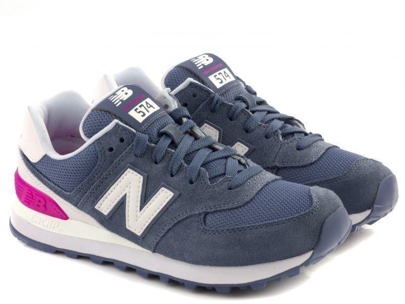 Кроссовки для женщин New Balance WL574CNB брендовая обувь, 2017