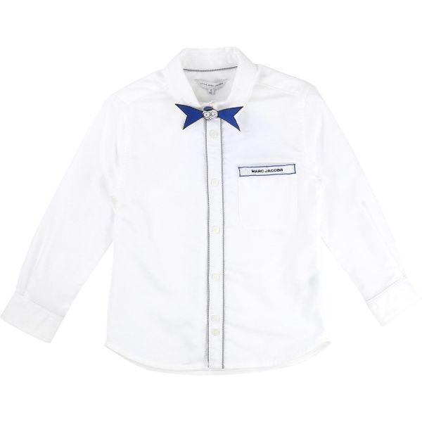Little Marc Jacobs Рубашка с длинным рукавом детские модель MJ717 качество, 2017