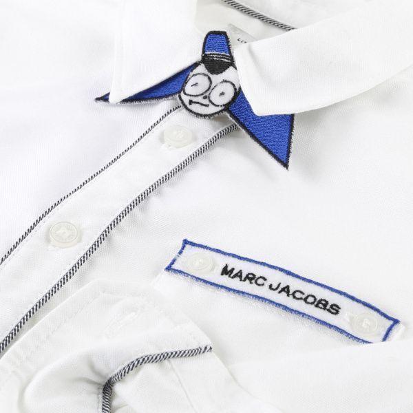 Little Marc Jacobs Рубашка с длинным рукавом детские модель MJ717 цена, 2017
