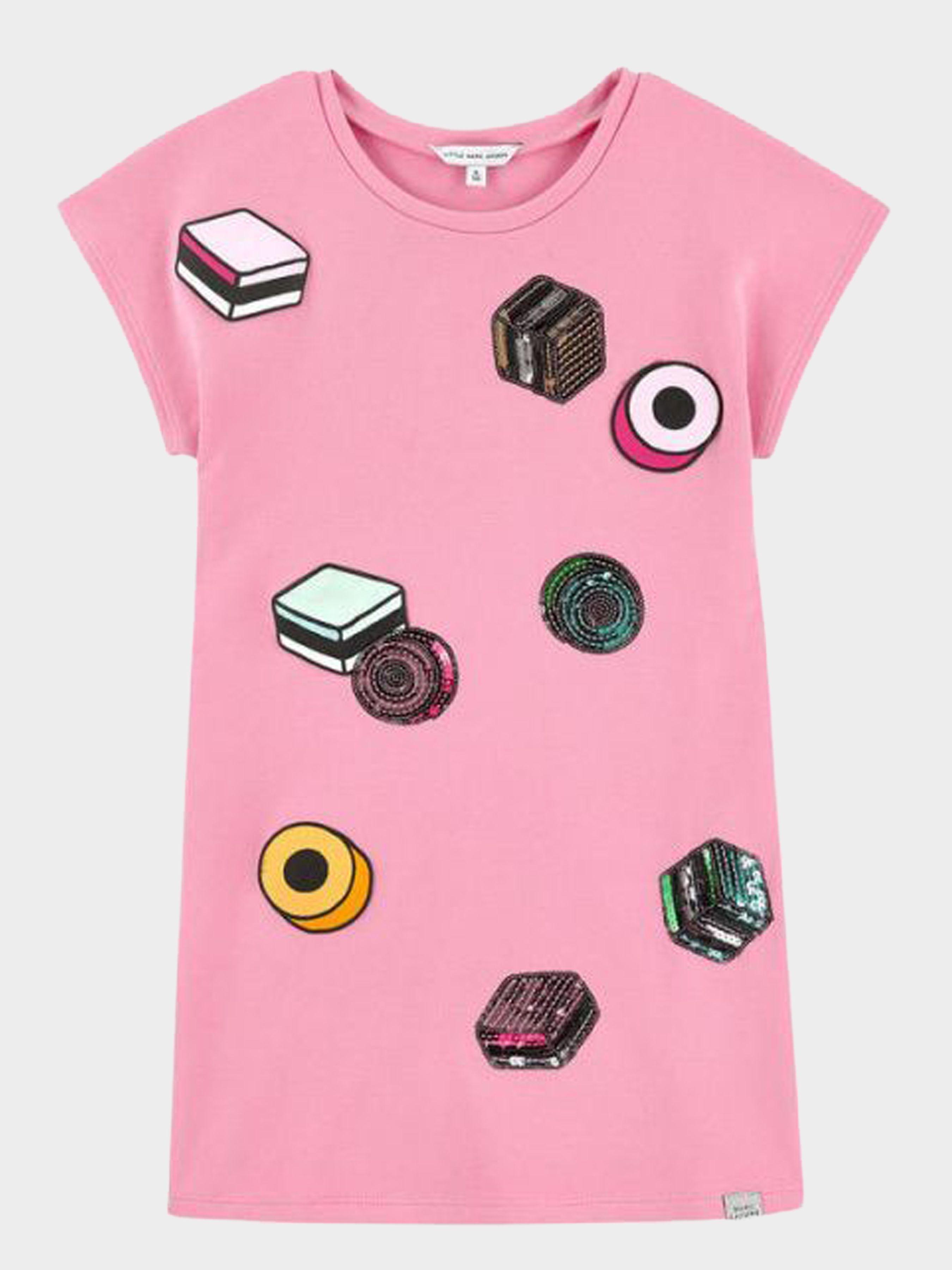 Купить Платье детские модель MJ818, Little Marc Jacobs, Розовый