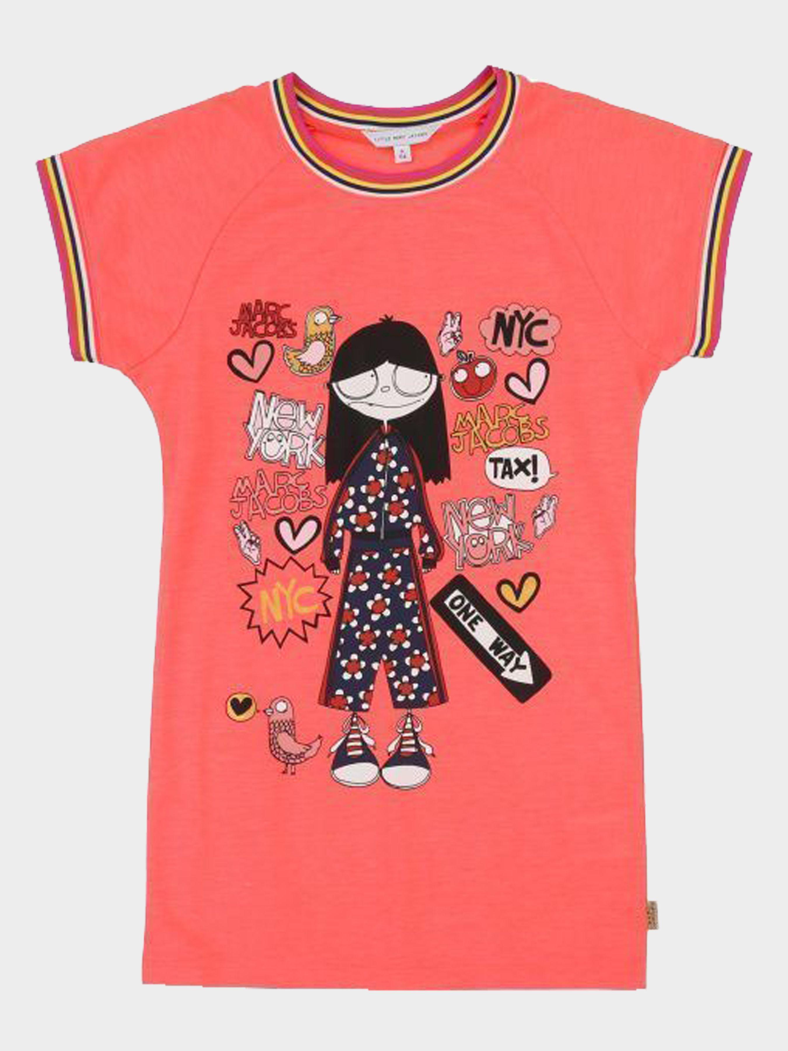 Купить Платье детские модель MJ895, Little Marc Jacobs, Розовый