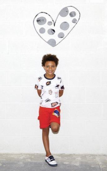Футболка Little Marc Jacobs модель W25376/10B — фото 3 - INTERTOP