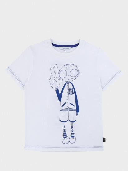Футболка Little Marc Jacobs модель W25417/10B — фото - INTERTOP