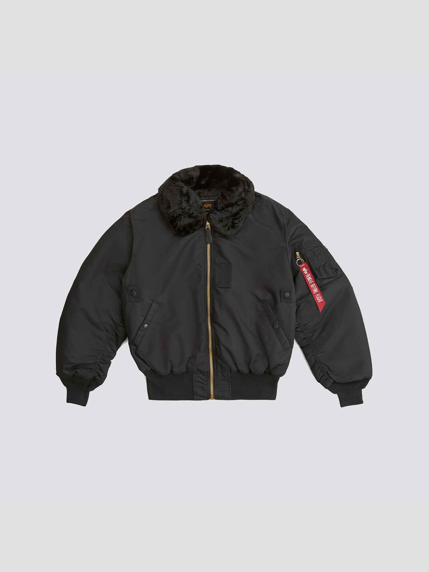 Alpha Industries Куртка чоловічі модель MJB23010C1_black придбати, 2017
