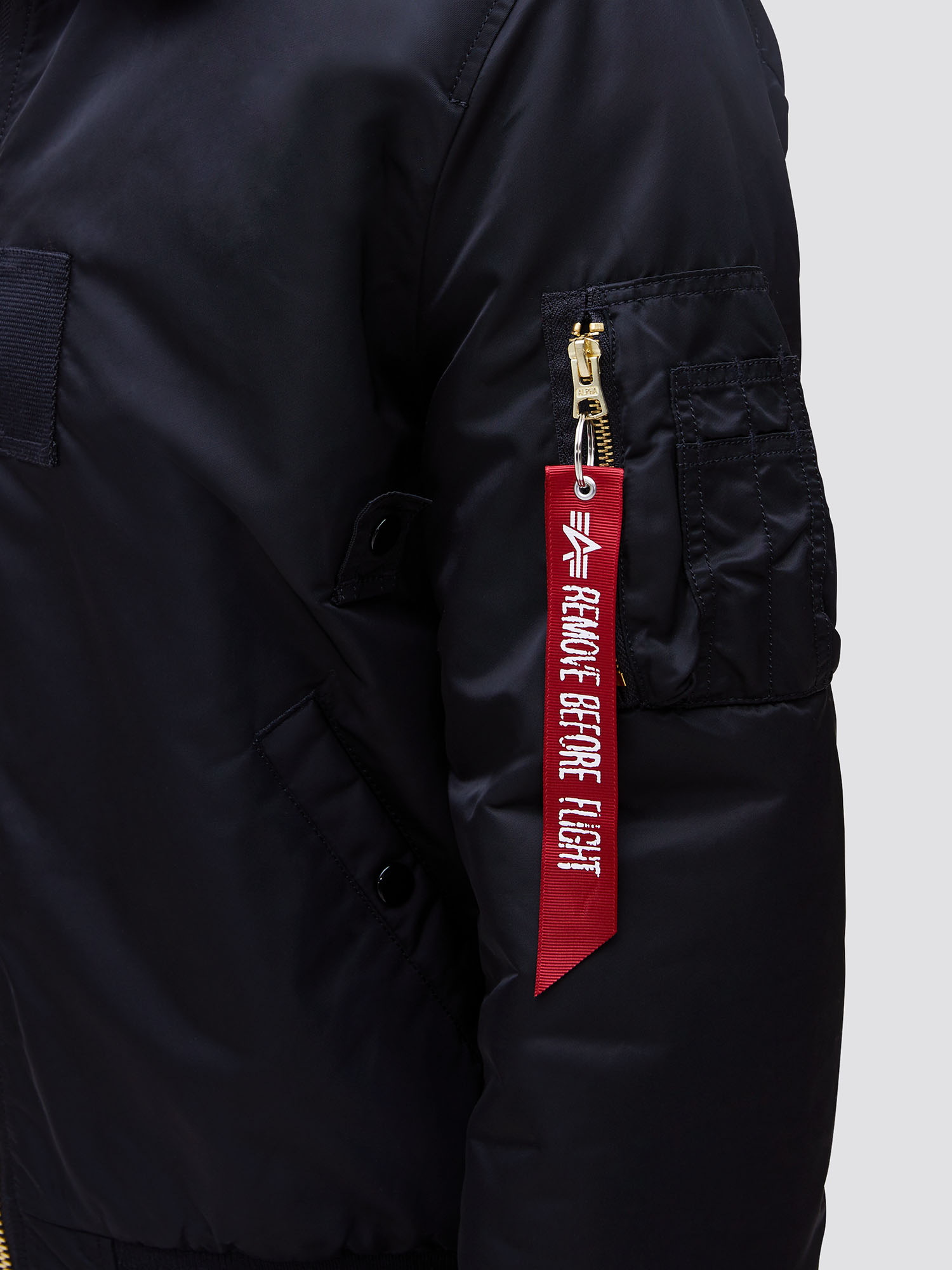Куртка мужские Alpha Industries модель MJB45500C1_black , 2017