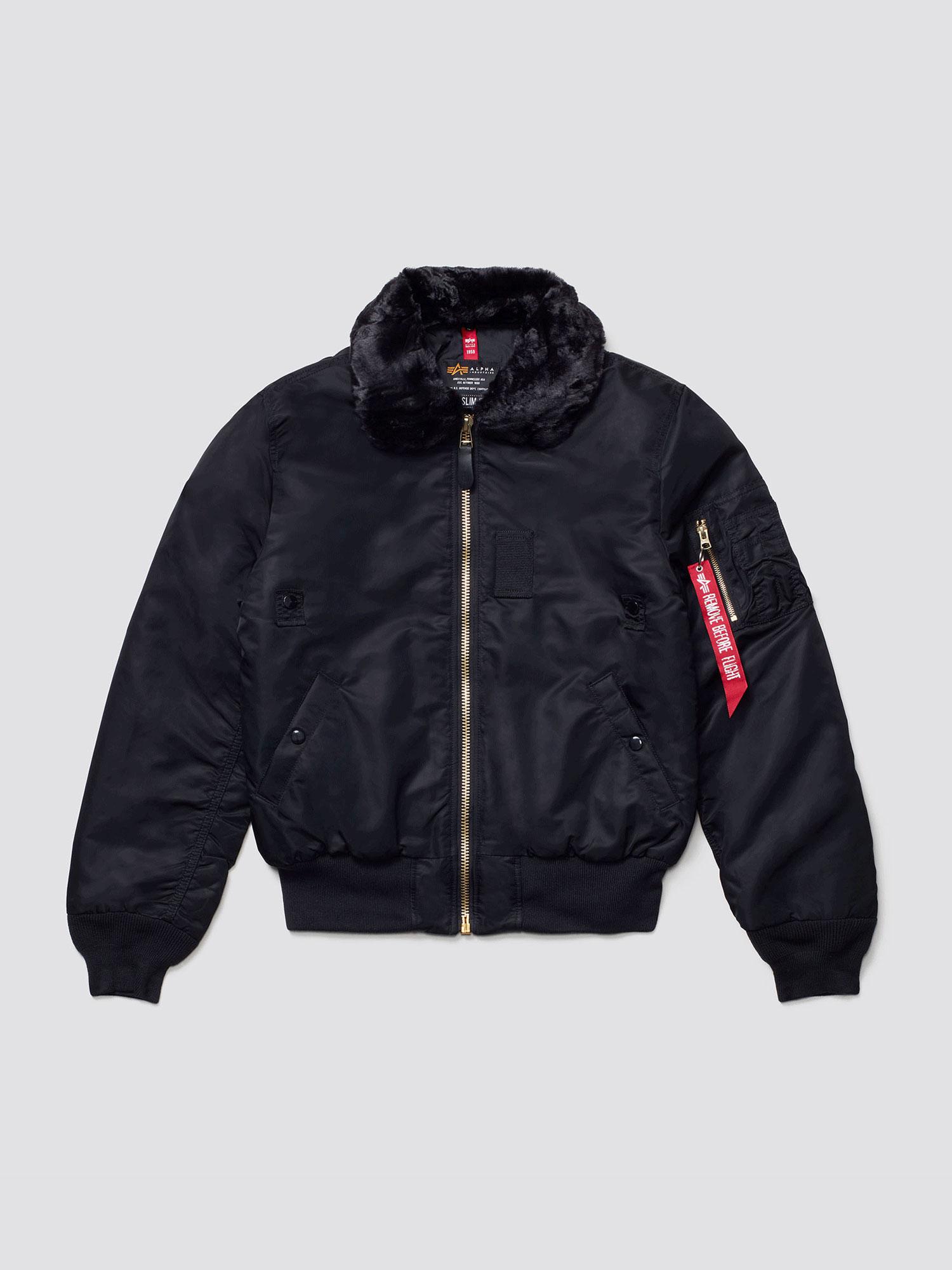 Куртка мужские Alpha Industries модель MJB45500C1_black купить, 2017