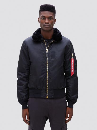 Куртка Alpha Industries модель MJB45500C1_black — фото - INTERTOP