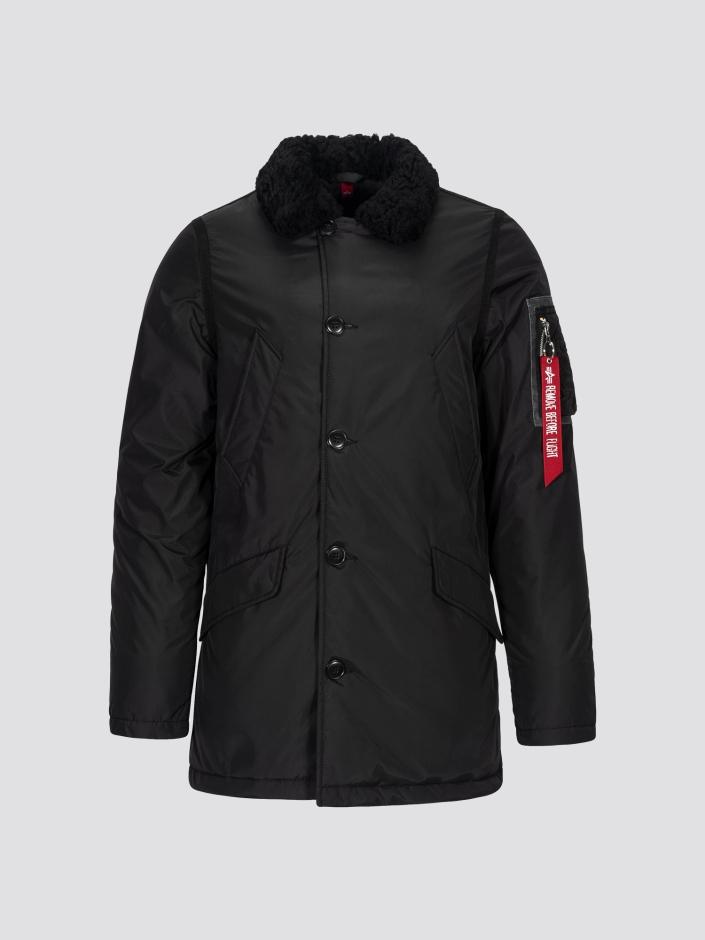 Alpha Industries Куртка чоловічі модель MJB48503C1_black придбати, 2017
