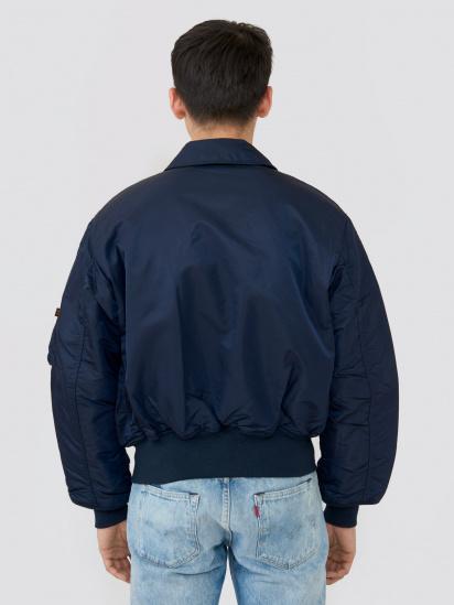 Легка куртка Alpha Industries модель MJC22000C1_replica_blue — фото 2 - INTERTOP