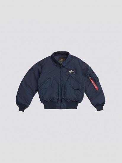 Легка куртка Alpha Industries модель MJC22000C1_replica_blue — фото 5 - INTERTOP