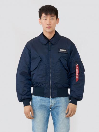 Легка куртка Alpha Industries модель MJC22000C1_replica_blue — фото - INTERTOP