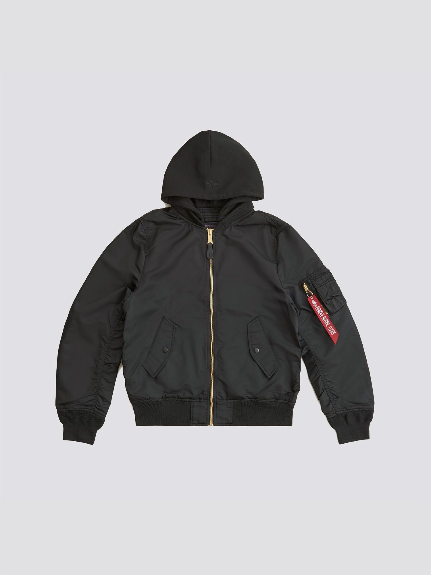 Куртка мужские Alpha Industries модель MJL48026C1_black купить, 2017