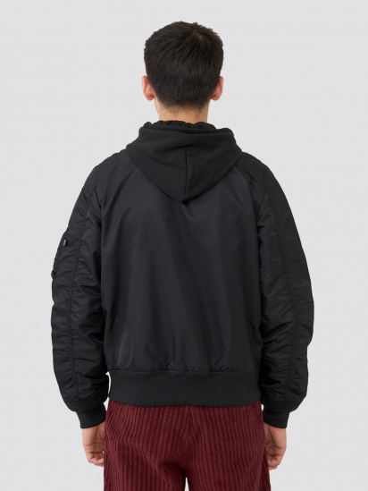 Куртка Alpha Industries модель MJL48026C1_black — фото 2 - INTERTOP