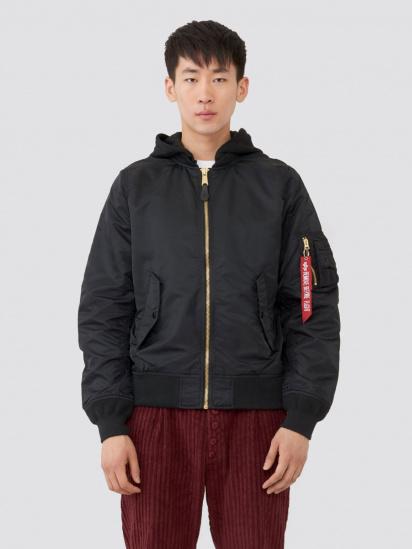 Куртка Alpha Industries модель MJL48026C1_black — фото - INTERTOP