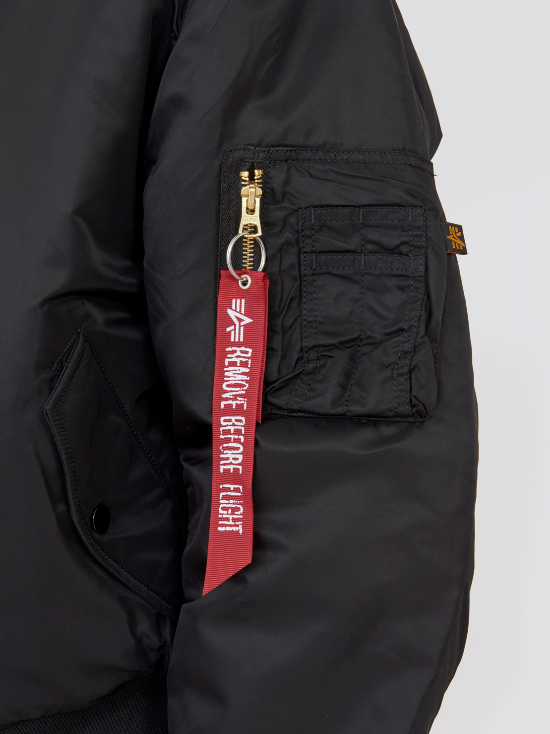 Куртка мужские Alpha Industries модель MJM21000C1_black , 2017